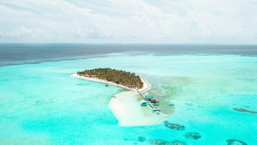 Onok Island Aerial View