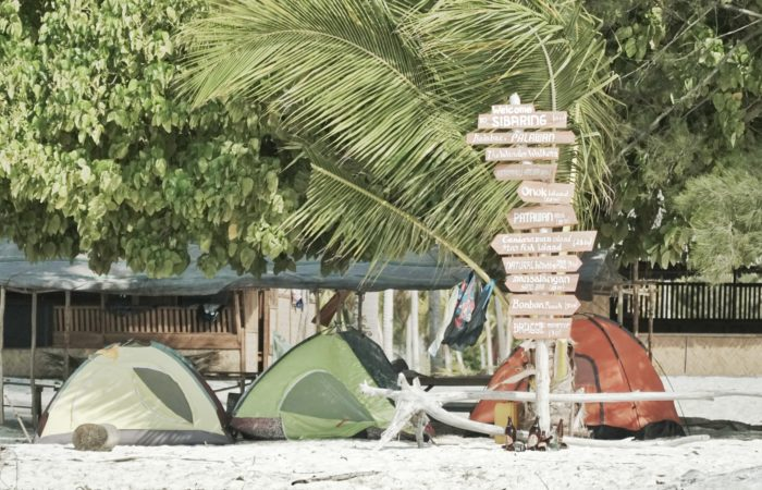 Tent Camping Balabac Tours by The Wanderwalkers